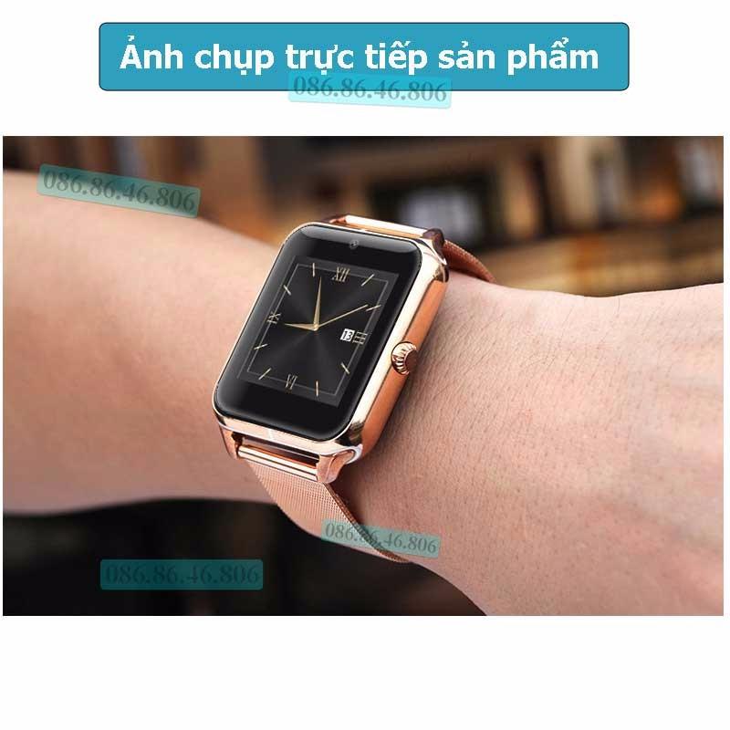 Đồng hồ thông minh Nhật siêu đa năng dây kim loại sang trọng 10