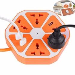 Ổ điện đa năng có chân sạc USB