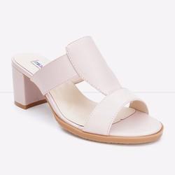 Giày Sandals gót vuông quai kiểu 797 màu hồng