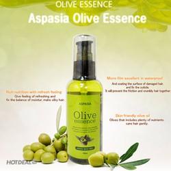 Tinh chất dưỡng tóc phục hồi hư tổn Aspasia Olive Essence