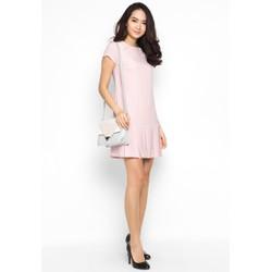 Đầm Suông hàng thiết kế Xếp Ly