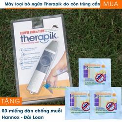 Dụng cụ loại bỏ ngứa Therapik tặng 03 miếng dán chống muỗi