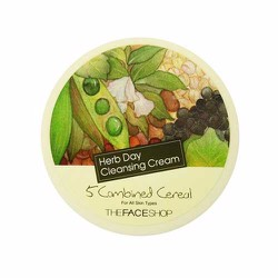 Kem tẩy trang TheFace Shop 5 Combined Herb Day Cleansing Cream 150g