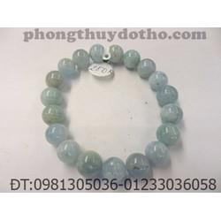 Vòng đá A qua xanh loại B hạt 10 ly - Vòng đá phong thủy