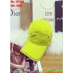 Nón kết nam nữ thêu logo NK nổi viền chỉ sành điệu NT368