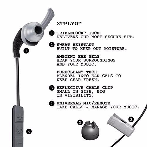 Tai nghe Skullcandy XTPLYO IN-EAR W 4