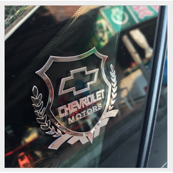 Viền trang trí thể thao logo xe Chevrolet
