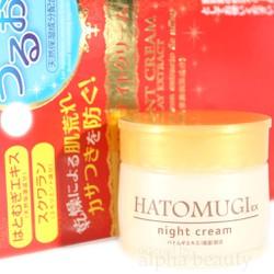 Kem dưỡng da Hatomugi Ex Night Cream