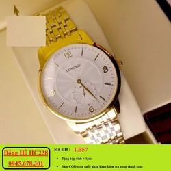 đồng hồ nam dây thép chống rỉ chống nước