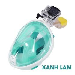 Mặt nạ lặn biển Fullface Snorkeling™ - Xanh lam