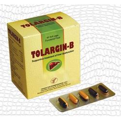 Hạ men gan, giải độc gan, viêm gan, gan nhiễm mỡ, xơ gan,Tolargin-B