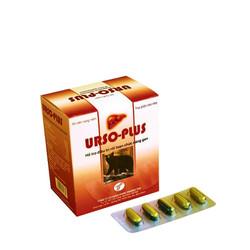 Hạ men gan, giải độc gan, viêm gan, gan nhiễm mỡ, xơ gan Urso-Plus
