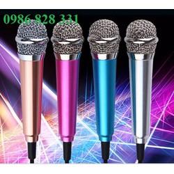 Micro hát karaoke trên điện thoại mini