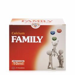 Thực phẩm bổ sung Canxi Calcium Family