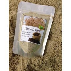 Tắm trắng cám gạo cà phê thiên nhiên