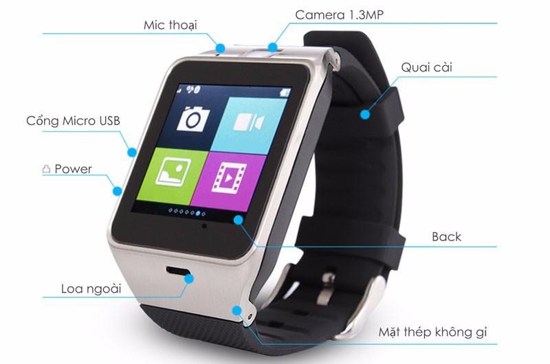 đồng hồ thông minh, đồng hồ cảm ứng có sim, đồng hồ trẻ em 2