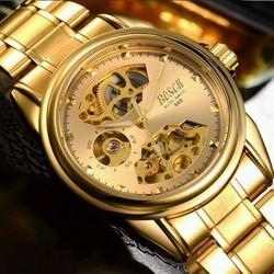 đồng hồ bosck cơ Automatic gold