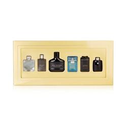 Bộ 06 chai nước hoa mini dành cho nam với các thương hiệu nổi tiếng