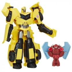 Đồ Chơi Robot Transformers Surge Bumblebee Và Buzzstrike Chạy Pin