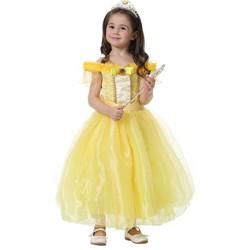 Đầm voan nhung Công chúa Bella người đẹp và quái vật