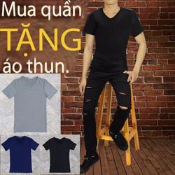 mua quần jean tặng áo thun nam tự chọn