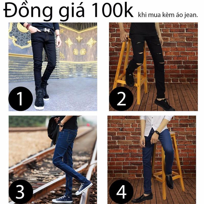 quần jean chỉ còn 100k khi mua cùng ái jean 9