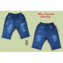 Quần Jeans bé trai size đại [Size:7-15] 33-55kg