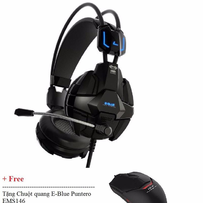 Tai nghe E-BLUE™ – Cobra – EHS902 tặng + Chuột chơi game 2