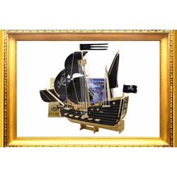 Bộ ghép gỗ 3D Thuyền buồm cướp biển