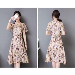 Đầm Xòe Hoa Nhí Xinh Xắn