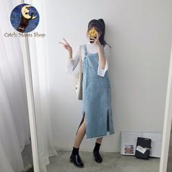 Đầm jean siêu cá tính