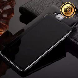 Bao da gương Huawei Mate 8 Clear View đen