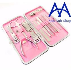 Bộ 12 món cắt móng tay tiện dụng cho bạn gái