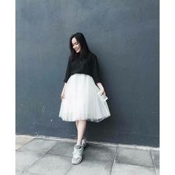 chân váy xoè Quảng Châu