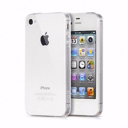 Ốp lưng silicon Iphone 4 4s - Dẻo trong suốt