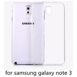 Ốp lưng silicon Samsung Galaxy Note 3 - Dẻo trong suốt