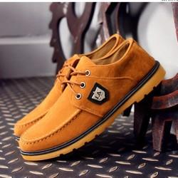 Giày Vải Nam Phong Cách - Màu Nâu
