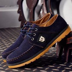 Giày Vải Nam Phong Cách - Màu Xanh