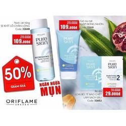 Bộ sản phẩm trị mụn Pure Skin