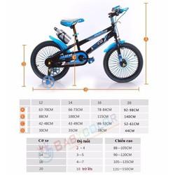 Xe đạp trẻ em 353 size 16