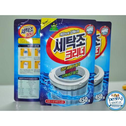 Túi Bột tẩy vệ sinh lồng máy giặt Hàn Quốc 450g - 4337123 , 5969118 , 15_5969118 , 65000 , Tui-Bot-tay-ve-sinh-long-may-giat-Han-Quoc-450g-15_5969118 , sendo.vn , Túi Bột tẩy vệ sinh lồng máy giặt Hàn Quốc 450g