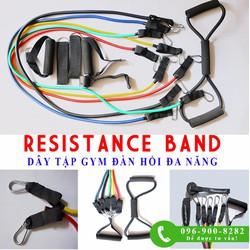 Dấy đàn hồi- Resistance band- Dây kháng lực