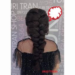 Bộ tóc giả thắt bím tơ nhật S195