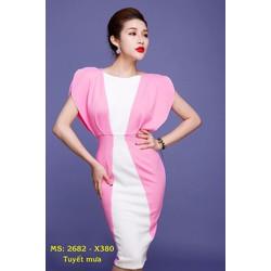 Đầm Ôm Phối Màu Tuyệt Đẹp
