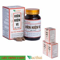 Viên Kiện Vị Bắc Thái - Giảm đau và Trào ngược dạ dày thực quản 03 hộp