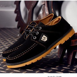 Giày Vải Nam Phong Cách - Màu Đen