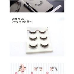 Lông mi giả 3D của Nhật