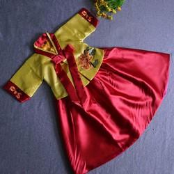 Hanbok Hàn Quốc cao cấp cho bé gái