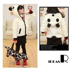 Áo Khoác Gấu Panda Có Đuôi - ZG96