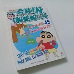 Shin - Cậu Bé Bút Chì Hoạt Hình Màu  Tập 45